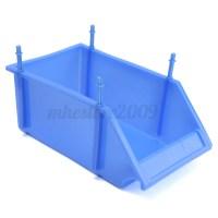 Plastic Rack Wall Mounted Box Drawer Storage Organizer ...