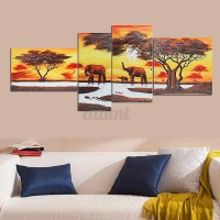 Modern Abstract Unframed Canvas Print Painting Picture