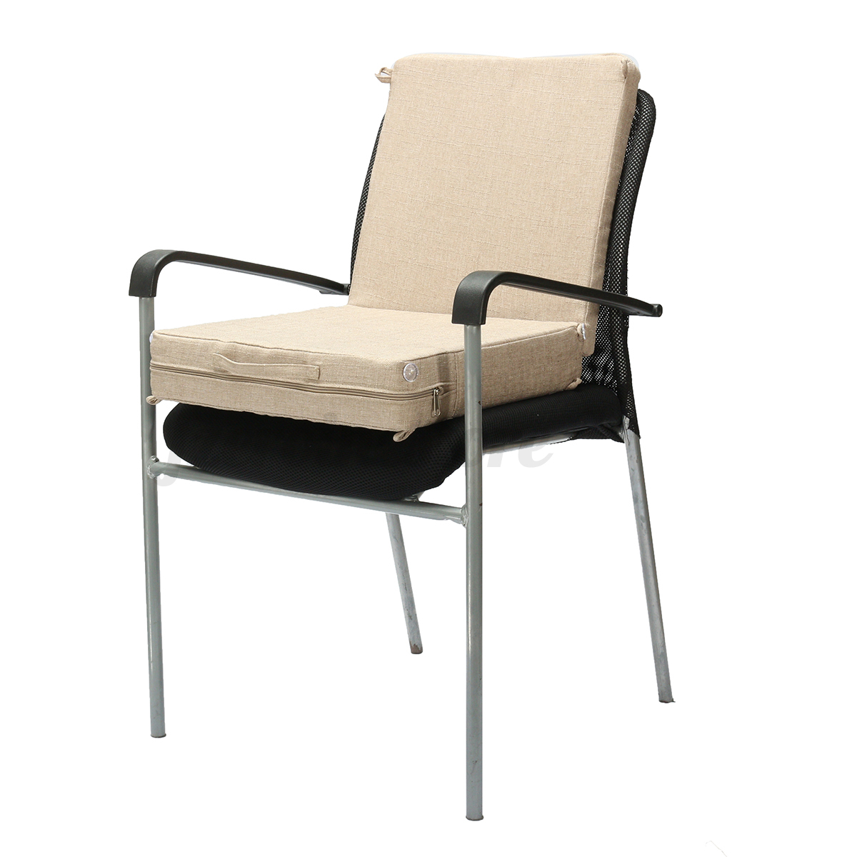 booster seat straps to chair steelcase think review kids chunky dining garden office armchair high
