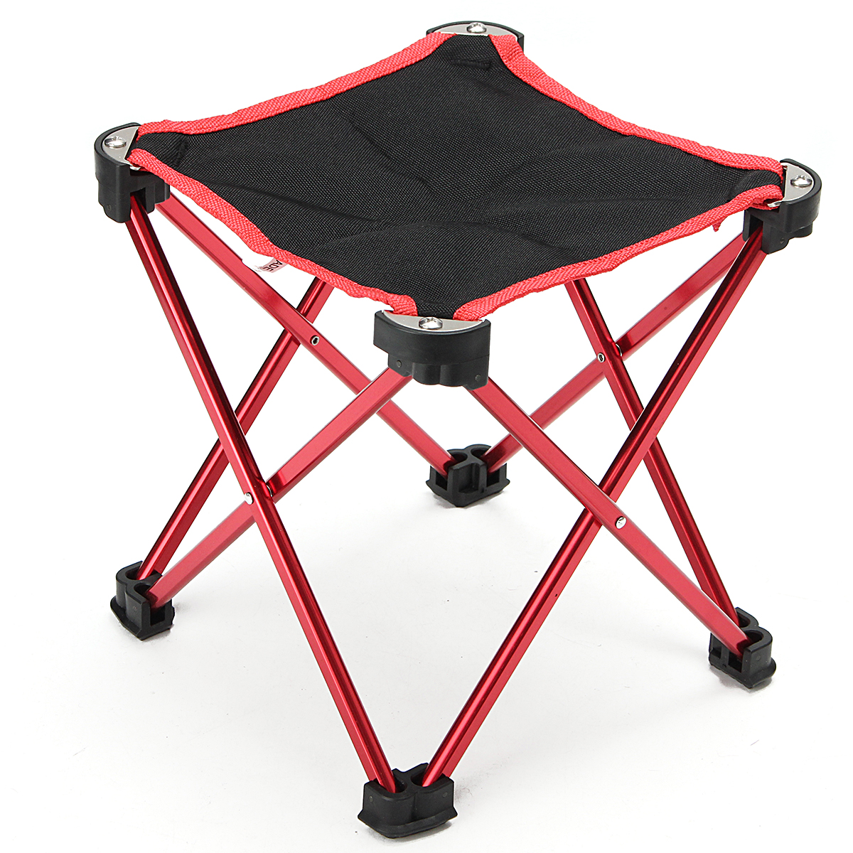 fishing chair small dining covers walmart camping folding portable outdoor steel camp