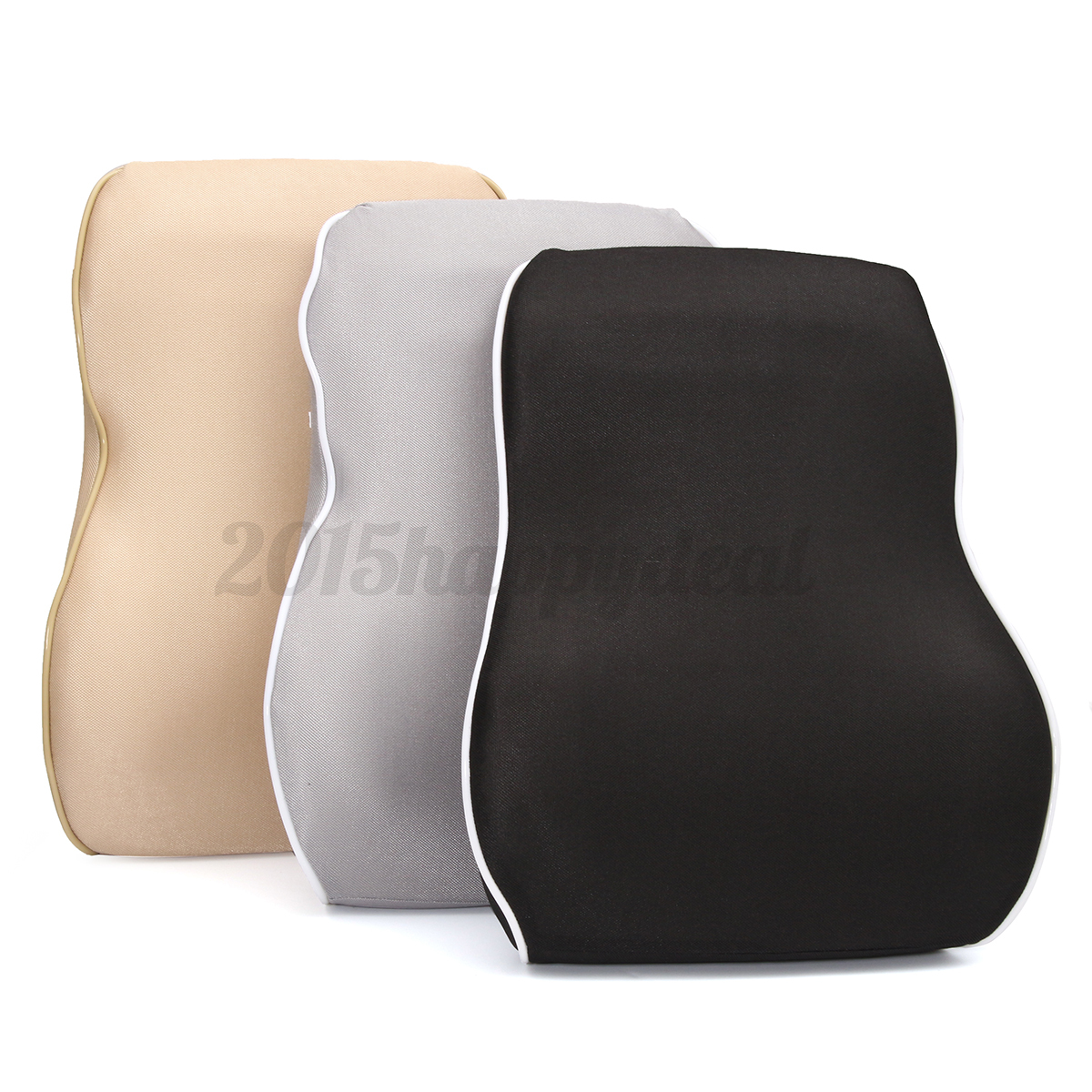 posture support seat cushion swing chair for rent car back lumbar memory foam
