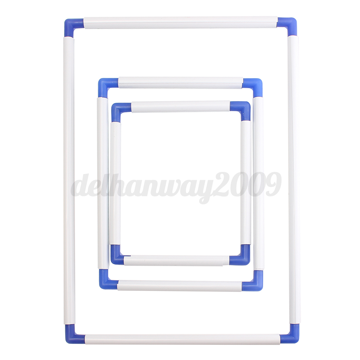 Cross Stitch Embroidery Frame Plastic Holder Hoops Stand