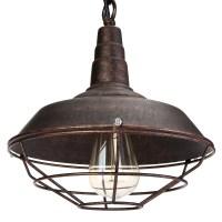 Metal Vintage Ceiling Light Modern Chandelier Pendant ...