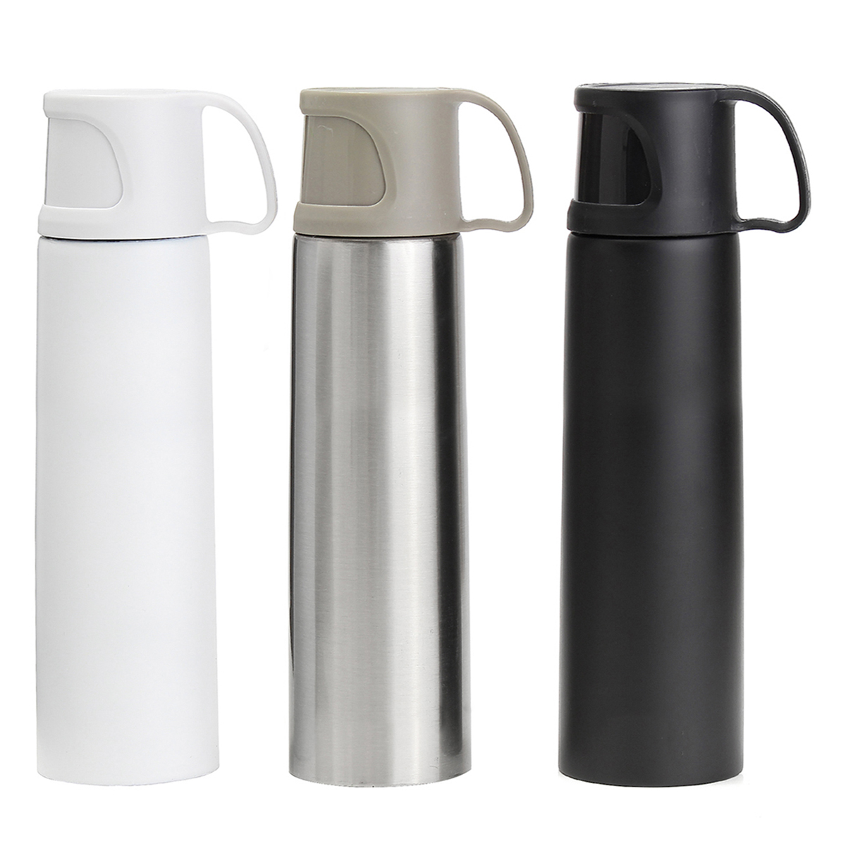 Portable Stainless Steel Vacuum Thermos Water Bottle Mug