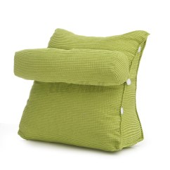 Chair Pillow For Back Fuzzy Saucer Sofa Bed Office Cushion Adjustable Neck Support