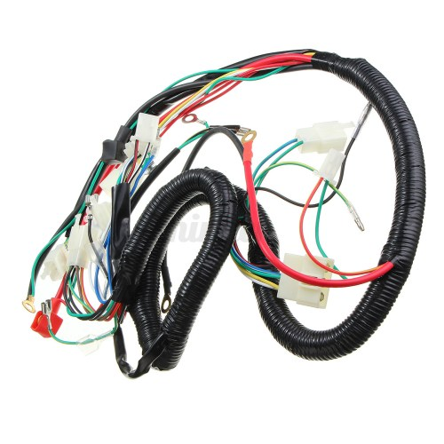 small resolution of wiring harness quad electric cdi coil wire for zongshen zongshen 250cc wire harness zongshen 250cc manual