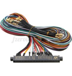 wire harness labels wiring diagram expert jamma wiring harness multicade 60 in 1 arcade game cabinet [ 1200 x 1200 Pixel ]