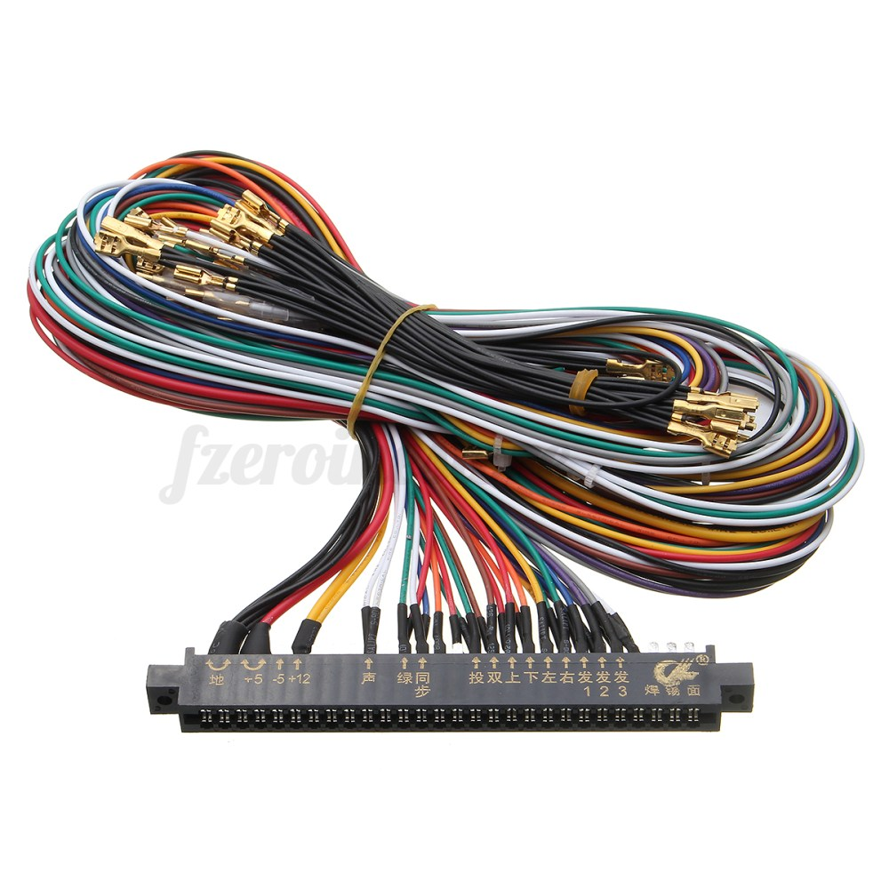 medium resolution of wire harness labels wiring diagram expert jamma wiring harness multicade 60 in 1 arcade game cabinet