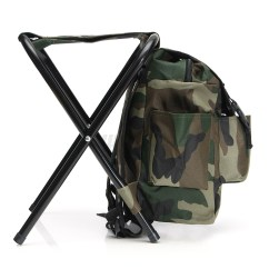 Fishing Chair Rucksack Wedding Covers And Tablecloths Foldable Stool Seat Backpack Multi Function