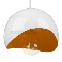 Modern Dome Retro Ceiling Pendant Light Lamp Shade ...
