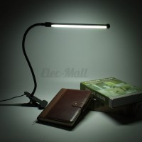 Flexible USB Clip-on Table Lamp LED Clamp Reading/Study ...