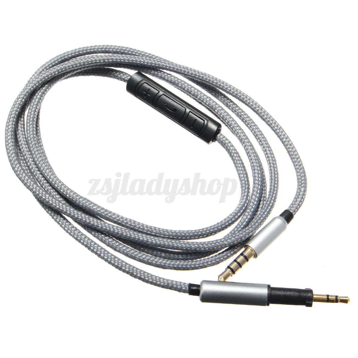 1 2m 3 5mm To2 5mm Audio Headphone Cable Mic For Akg K450