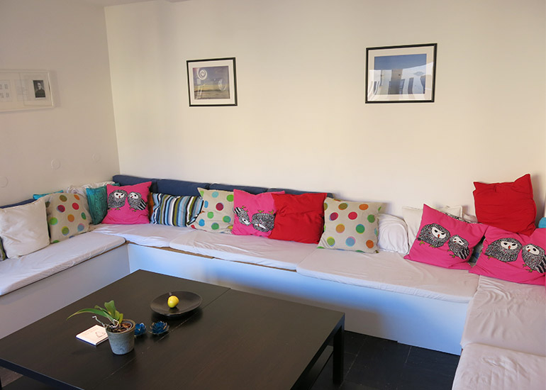 Kjøkken lounge med sittegruppe