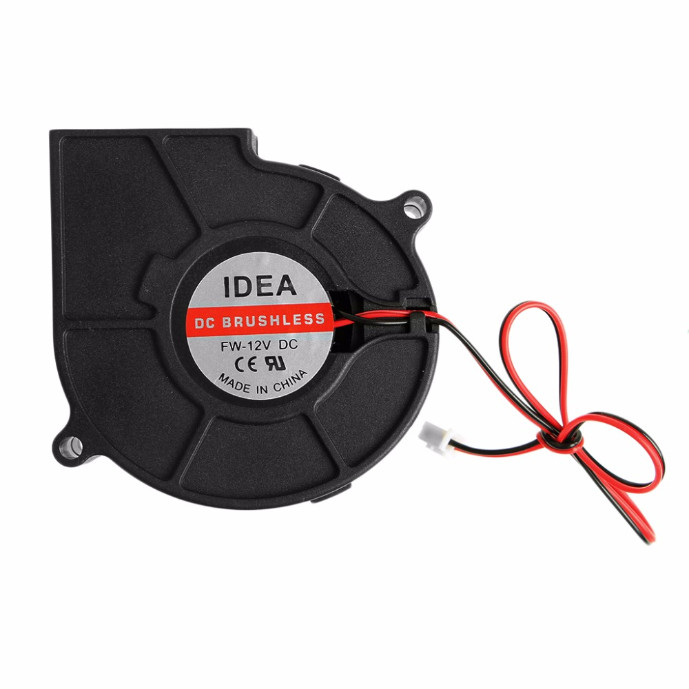 hight resolution of 75mmx30mm dc 12v 0 24a 2 pin computer pc sleeve bearing blower cooling fan