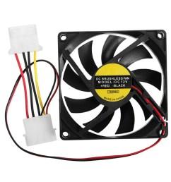 hot sale 1pc 9 leaf 4 pin 80mm 80mm 15mm cpu cooler fan dc [ 1000 x 1000 Pixel ]