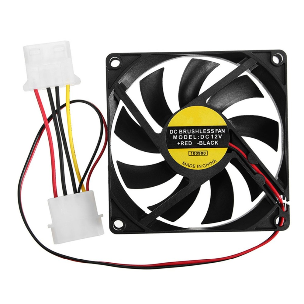 hight resolution of hot sale 1pc 9 leaf 4 pin 80mm 80mm 15mm cpu cooler fan dc