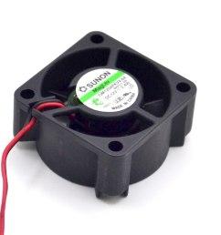 sunon gm1204pkvx 8a 12v 2 4w 2wire server cooling fan [ 960 x 960 Pixel ]