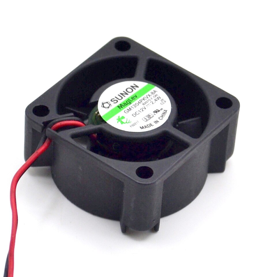 hight resolution of sunon gm1204pkvx 8a 12v 2 4w 2wire server cooling fan