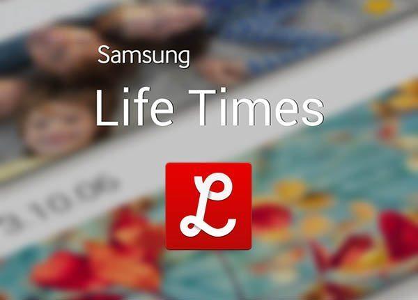Samsung Life Times aplicación