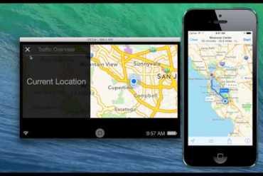 Vídeo iOS en el Auto para iOS 7