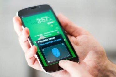 Lector de huellas dactilares Galaxy S5