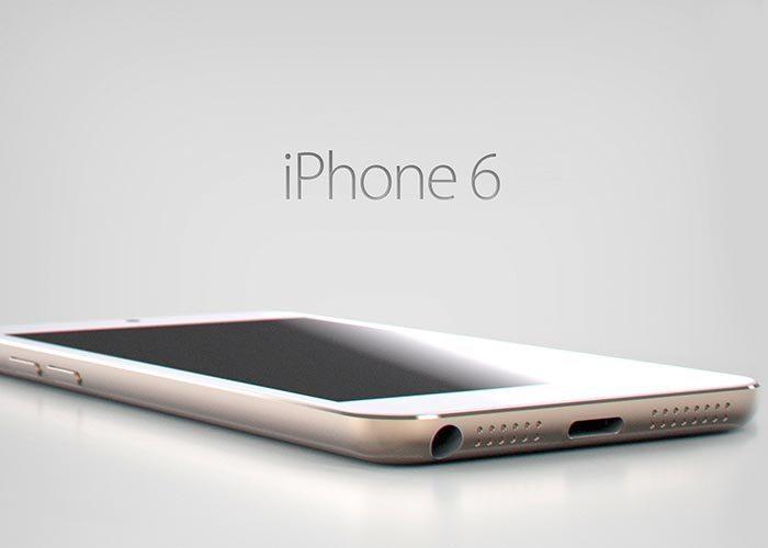 Concepto del próximo iPhone 6
