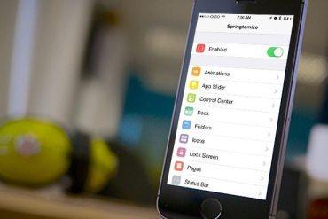 Springtomize 3 para iOS 7