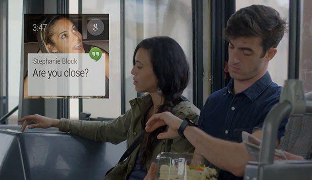 Mensajes en Android Wear