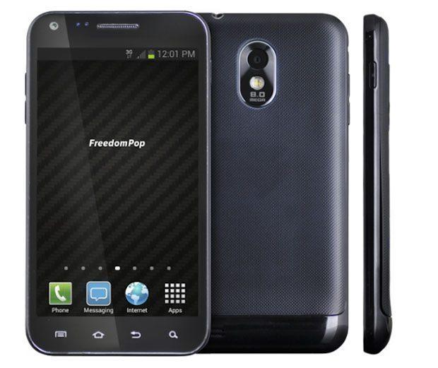 FreedomPop Private Phone también conocido como Snowden Phone