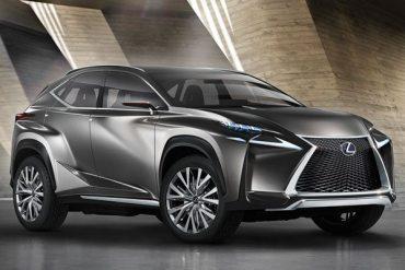 Lexus NX estará basada en el Lexus LF-NX