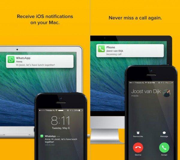Notifyr: Ver las notificaciones de tu iPhone en el Mac