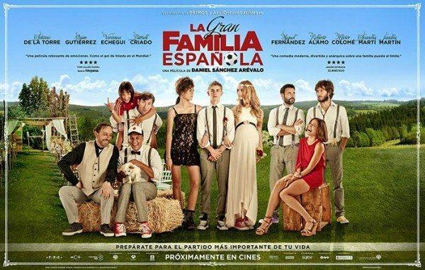 Cartelera cine en Puerto Rico - La Gran Familia Española