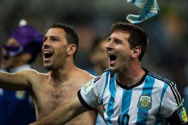 Argentina - Brasil 2014 - Lio Messi