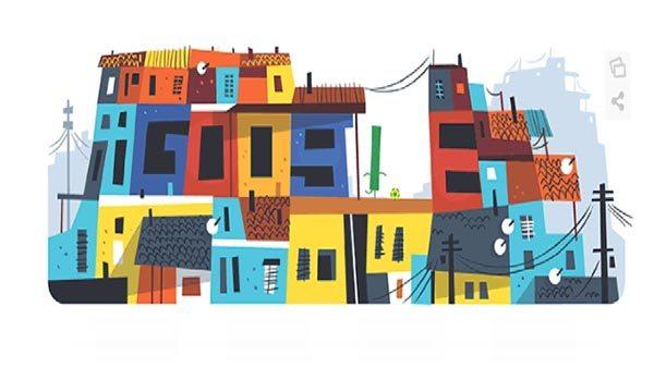 Google doodle Brasil 2014