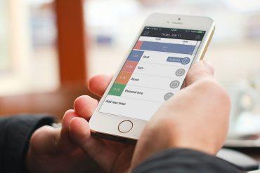 Hours app — App para manejar el tiempo y tareas iPhone