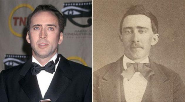 Nicolas Cage parece que ha viajado en el tiempo