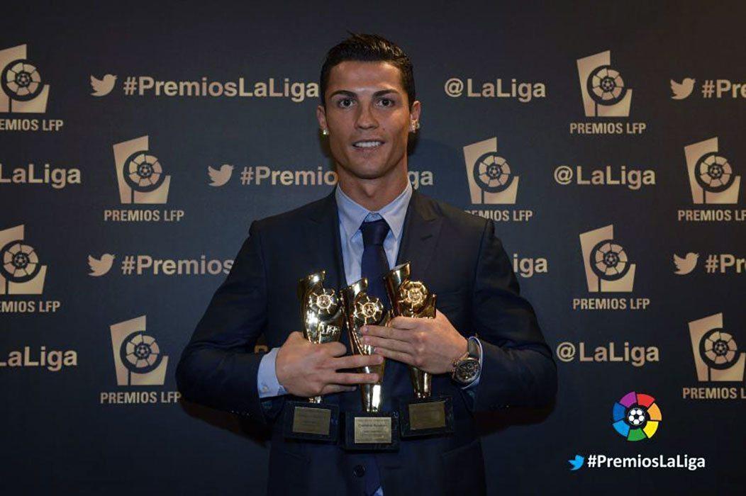 Premios La Liga BBVA 2013-2014 - Cristiano Ronaldo mejor jugador en La Liga