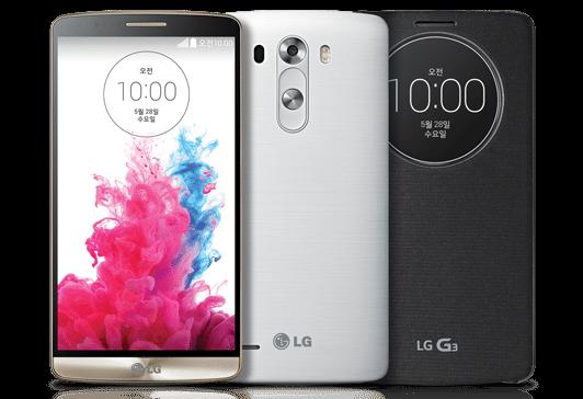LG G3 colores
