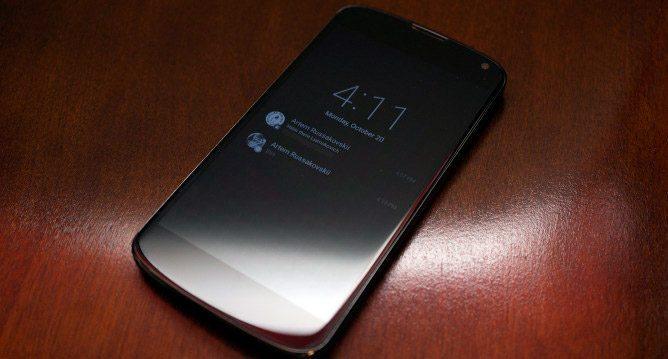 Nexus 6 con Ambient Display