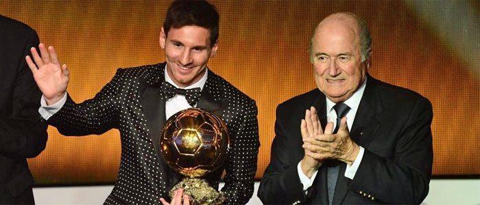 Lionel acepta su 4to Balón de Oro consecutivo