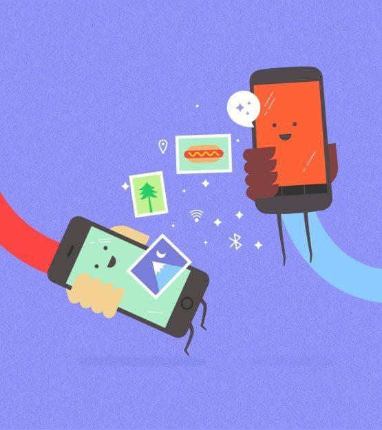 Copresence - Pasar archivos entre iOS y Android