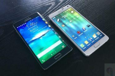 Samsung Galaxy Note Edge y Note 4