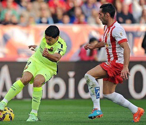 Luis Suárez - FC Barcelona vs Almería