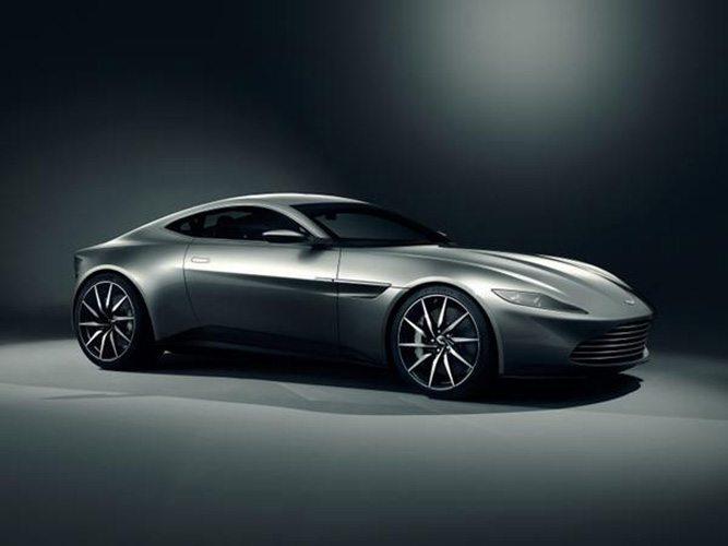 Aston Martin DB10 que estará usando James Bond en Spectre