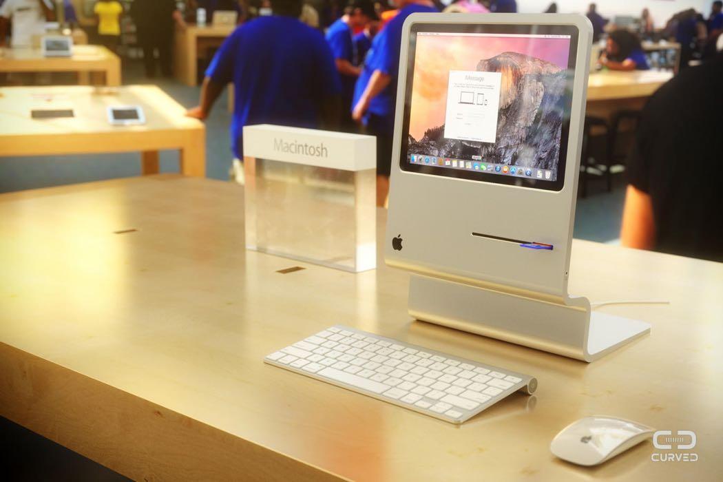 Concepto CURVED Macintosh