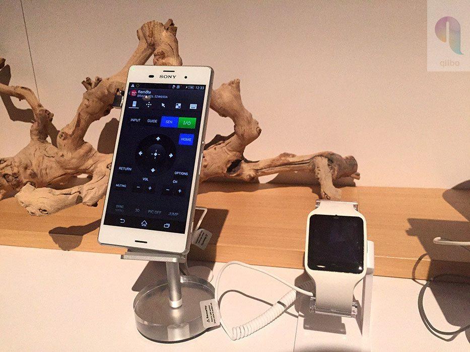 Sony SmartWatch 3 y Xperia Z3