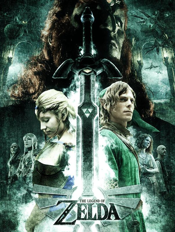 Serie de televisión The Legend of Zelda Netflix