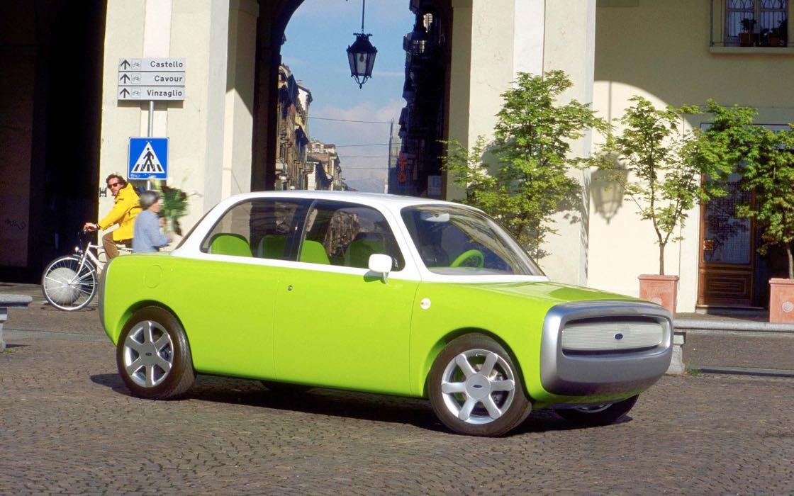 Concepto Ford O21C no del coche de Apple