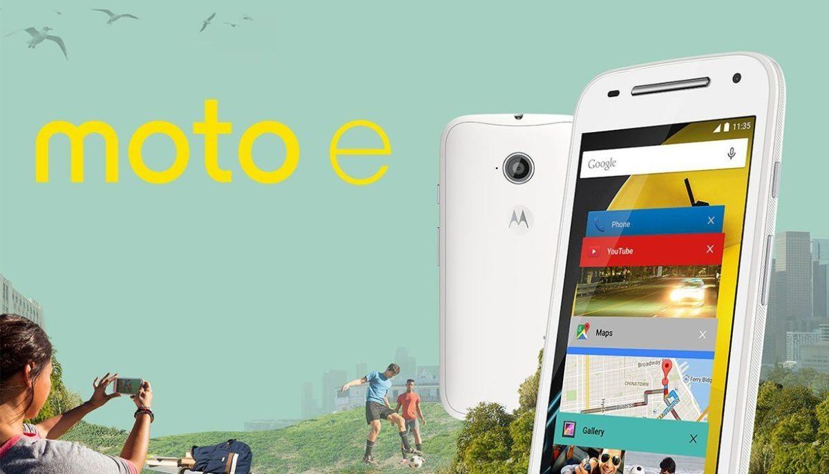 Nuevo Motorola Moto E 2015