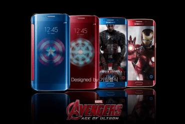Galaxy S6 Edge Avengers Edition